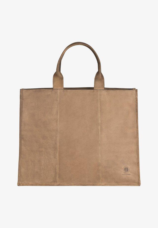 DAKOTA - Tote bag - mittelbraun