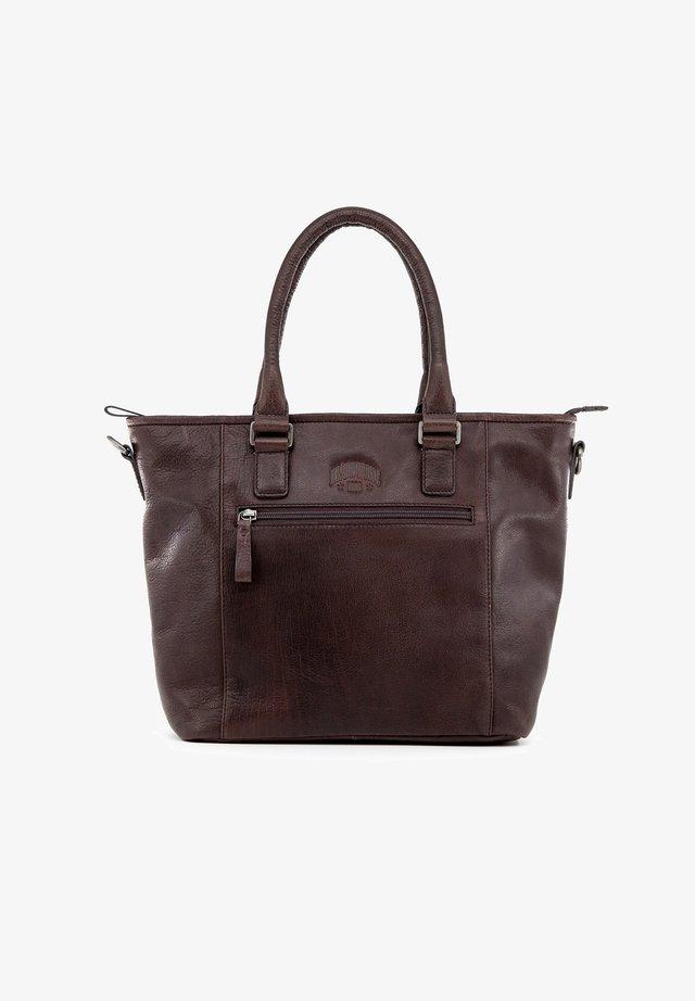 MILENA - Handbag - dunkelbraun