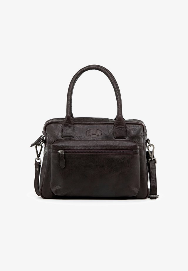 HELENA - Handbag - dunkelbraun