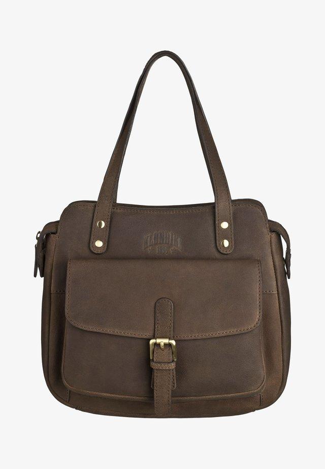 HAILEY - Handbag - dunkelbraun