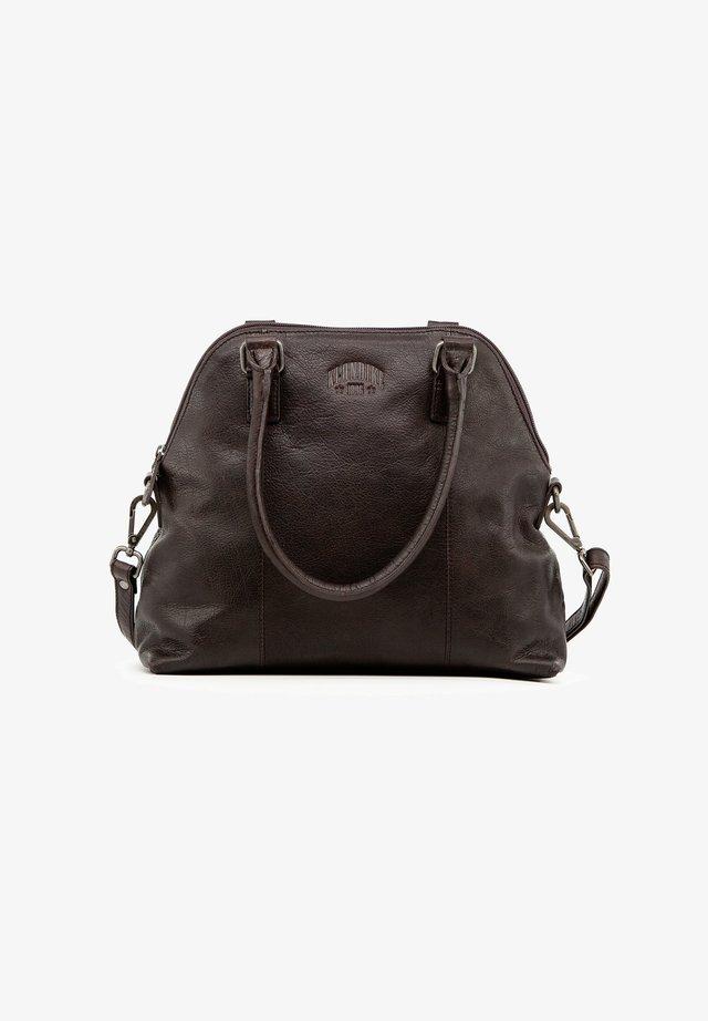 ELLA - Handbag - dunkelbraun