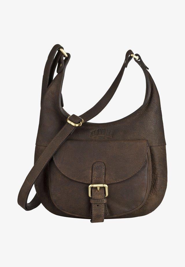 SIENNA - Handbag - dunkelbraun
