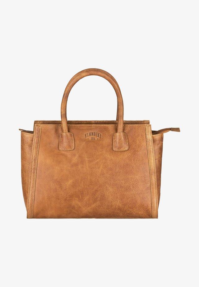 CLARA - Tote bag - cognac
