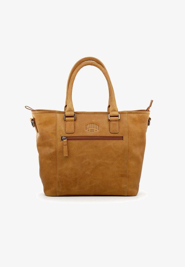 MILENA - Handbag - cognac
