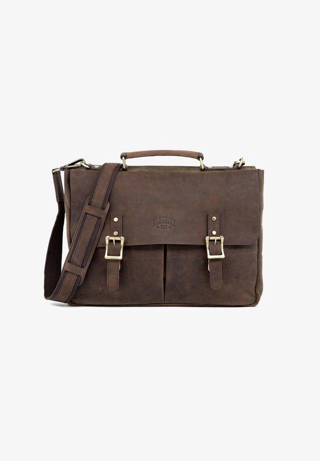 BARRY - Briefcase - dunkelbraun