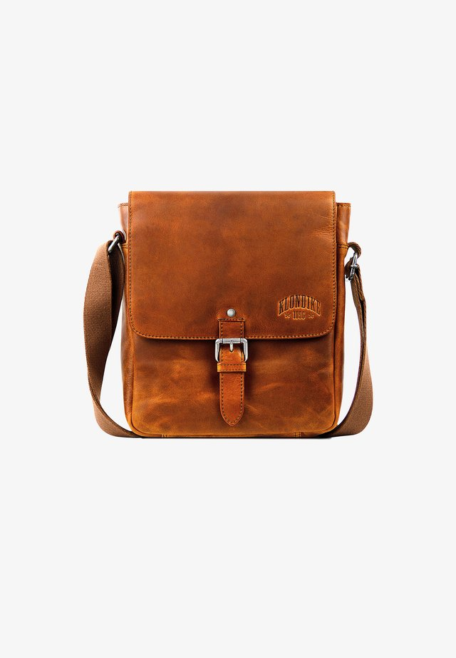 ERIN - Across body bag - cognac