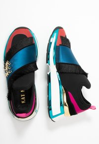 Kat Maconie - MAXIE - Mocassins - black/multicolor - 3