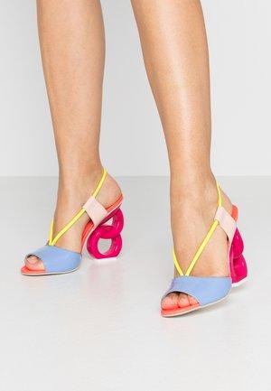 HALLE - High heeled sandals - multicolor