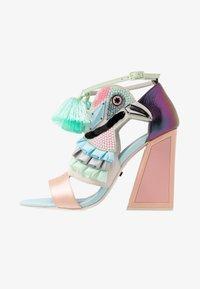 Kat Maconie - AYA - Sandály na vysokém podpatku - pebble/multicolor - 1