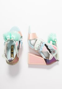 Kat Maconie - AYA - Sandály na vysokém podpatku - pebble/multicolor - 3