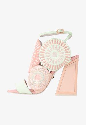 FRIDA - High heeled sandals - seashell/multicolor