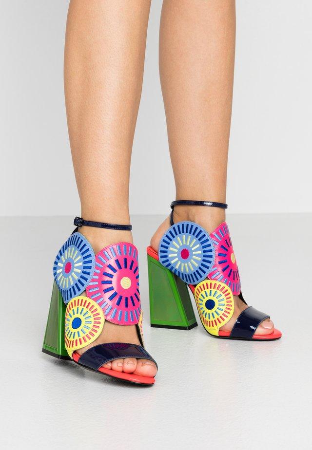 FRIDA - Sandalen met hoge hak - glitch/multicolor