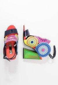 Kat Maconie - FRIDA - Sandály na vysokém podpatku - glitch/multicolor - 3