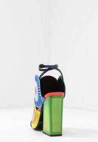 Kat Maconie - FRIDA - Sandály na vysokém podpatku - glitch/multicolor - 5