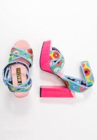 Kat Maconie - CHARLIE - Sandály na vysokém podpatku - lipstick pink/multicolor - 3