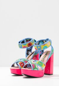 Kat Maconie - CHARLIE - Sandály na vysokém podpatku - lipstick pink/multicolor - 4