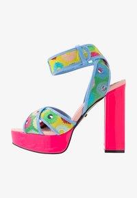 Kat Maconie - CHARLIE - Sandály na vysokém podpatku - lipstick pink/multicolor - 1