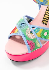 Kat Maconie - CHARLIE - Sandály na vysokém podpatku - lipstick pink/multicolor - 2