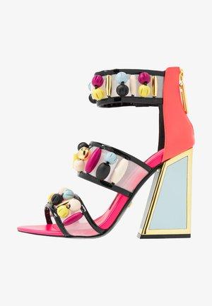 CARDI - Korolliset sandaalit - multicolor