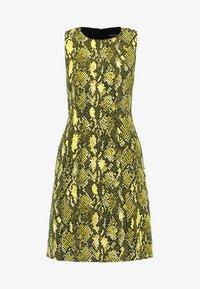 Karen Millen - SNAKE PRINT COLLECTION - Day dress - yellow - 3