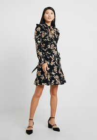 Karen Millen - DARK DAISY PRINT - Day dress - multicolour - 1