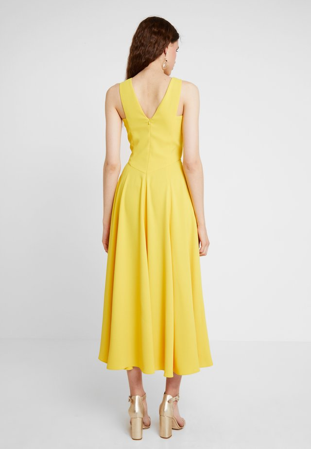 COLOURFUL DAY DRESS - Cocktail dress / Party dress - yellow