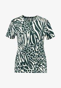 Karen Millen - MIXED ANIMAL PRINT COLLECTION - Print T-shirt - green/multi - 4