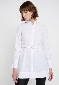 Karen Millen - TUNIC - Camicia - white - 0