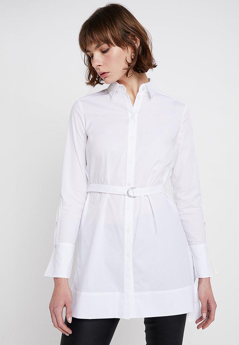 Karen Millen - TUNIC - Camicia - white