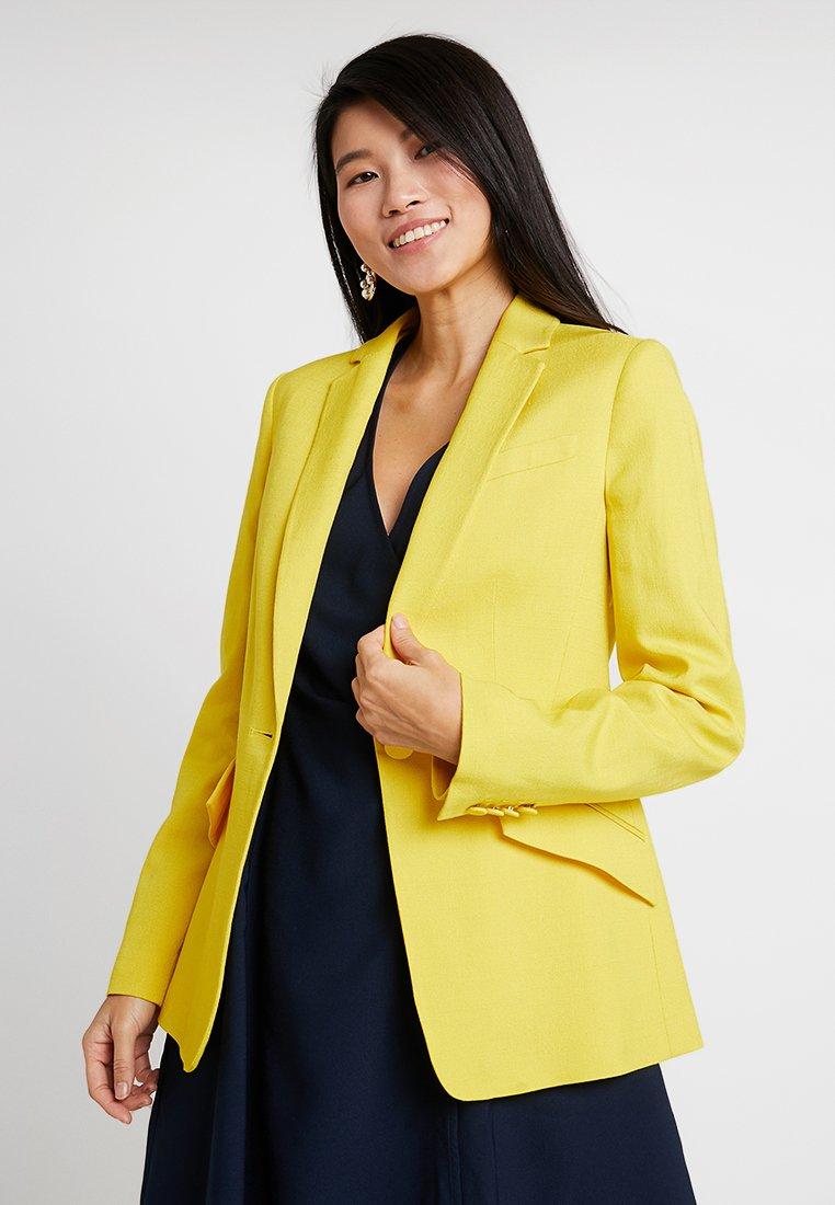 Karen Millen - SHARP SUMMER SUIT - Blazer - yellow