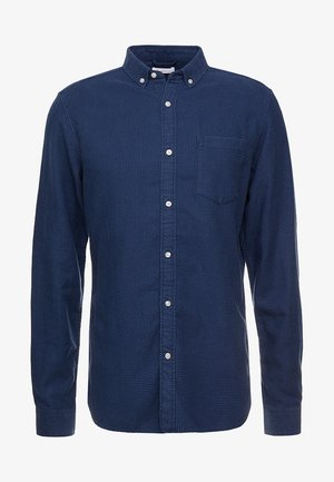 ZIG ZAK SHIRT - Shirt - dark denim