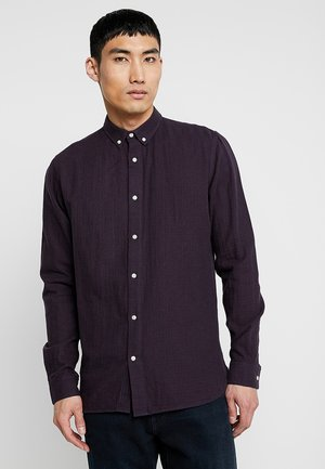 DOUBLE LAYER CHECKED  - Shirt - fig