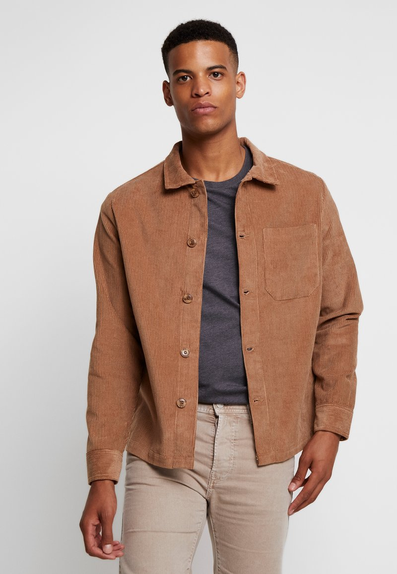 Knowledge Cotton Apparel - WALES OVERSHIRT WITH BUTTON - Leichte Jacke - tuffet