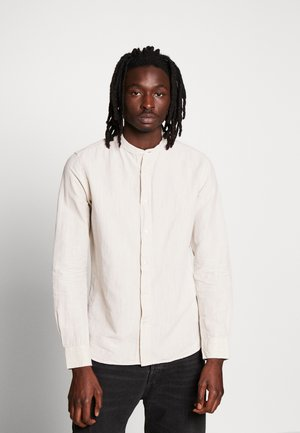 LARCH STAND UP COLLAR - Shirt - light feather gray