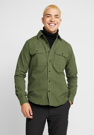 LONG SLEEVE MOLESKIN - Shirt - green forest