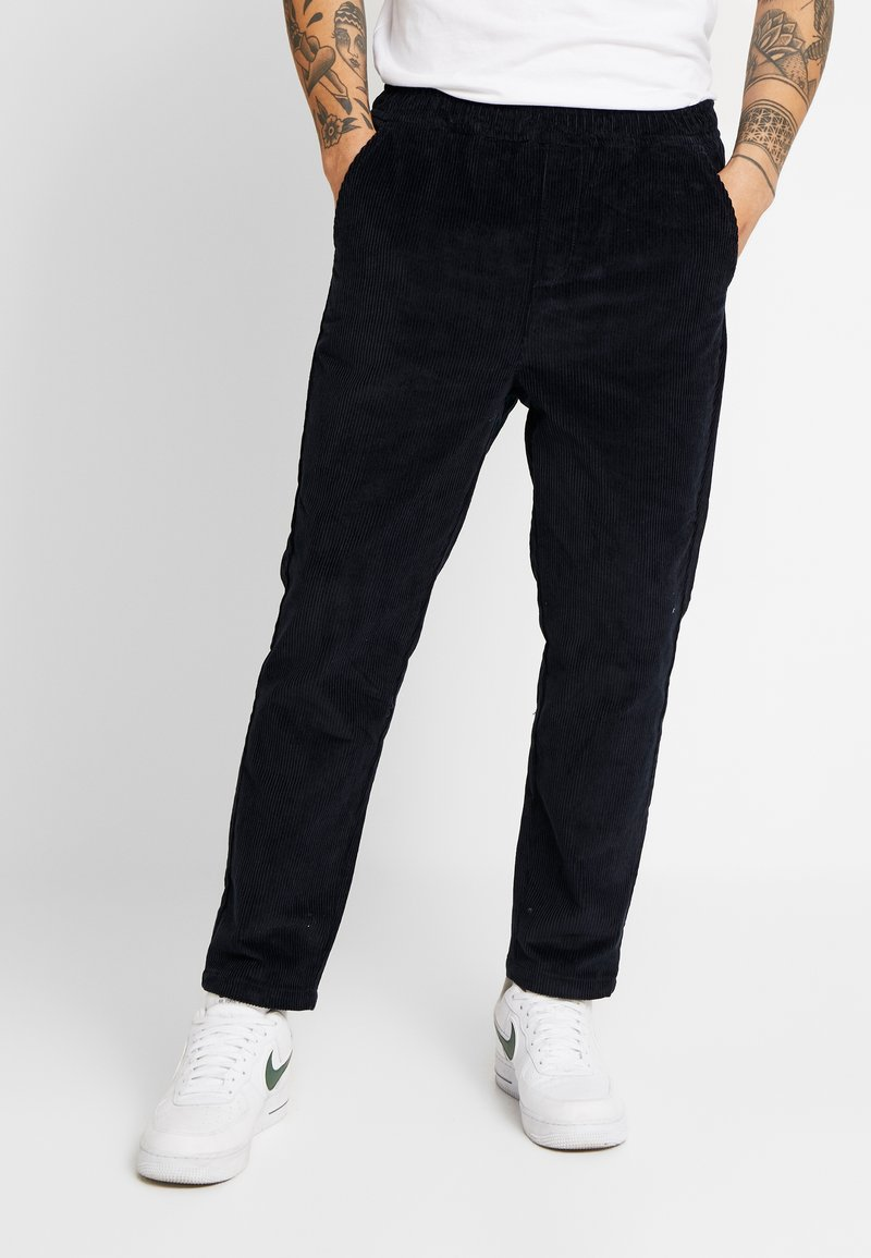 Knowledge Cotton Apparel - BOB PANT - Trousers - total eclipse