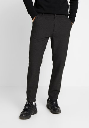 JOE GARMENT DYED STRETCHED PANT - Trousers - total eclipse