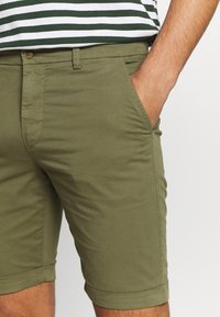 Knowledge Cotton Apparel - Shortsit - burned olive - 3