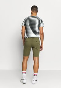 Knowledge Cotton Apparel - Shortsit - burned olive - 2