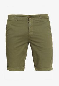 Knowledge Cotton Apparel - Shortsit - burned olive - 4