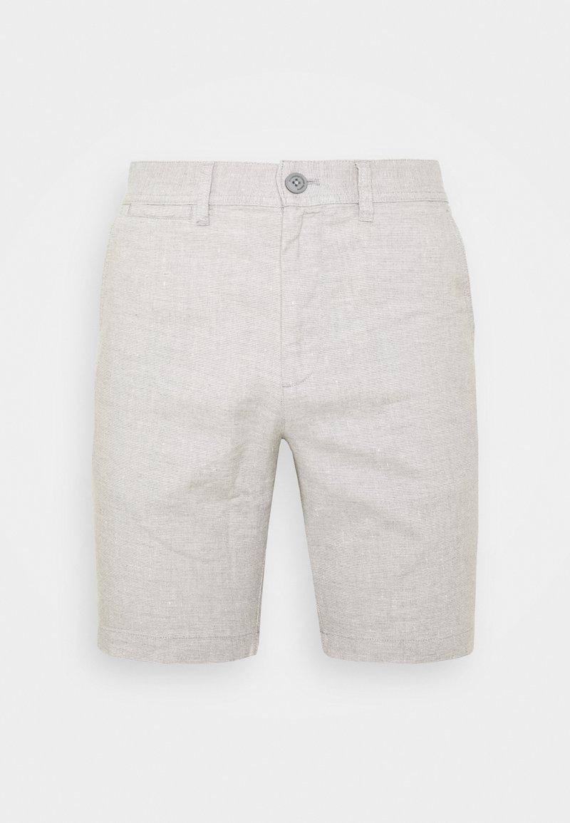 Knowledge Cotton Apparel - CHUCK REGULAR - Shorts - mottled grey