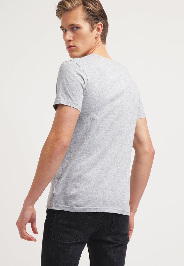 Single Knowledge Imprimé Grey Cotton OwlT Apparel shirt Melange With OkiXuTPZ