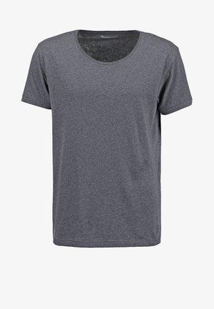 BASIC FIT O-NECK - T-shirt - bas - grey
