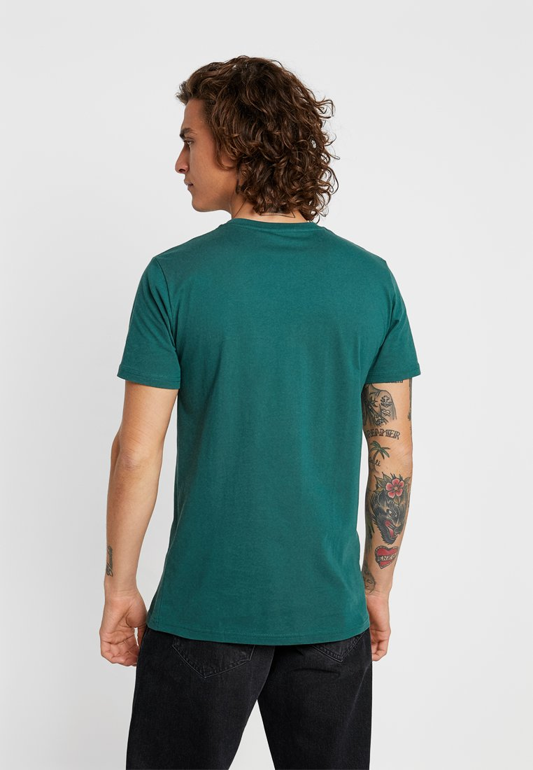 Chest LogoT Knowledge Imprimé Cotton With Apparel Bistro Owl Green shirt m8yNwvn0O