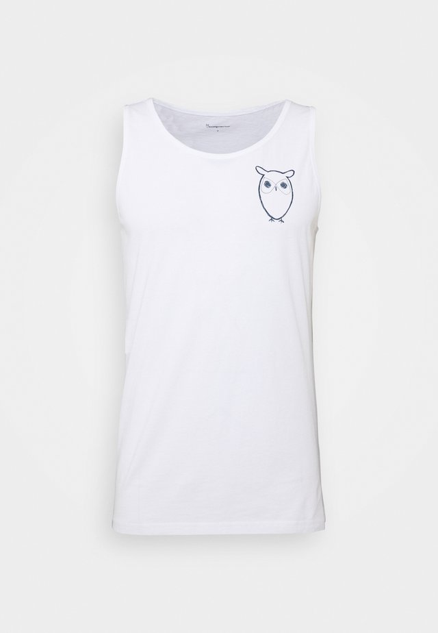 PALM OWL CHEST TANK TOP - Top - white