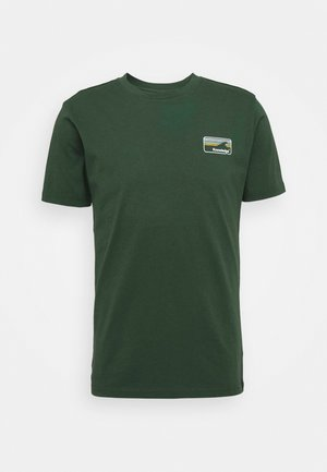 ALDER KNOWLEDE TEE - T-paita - green
