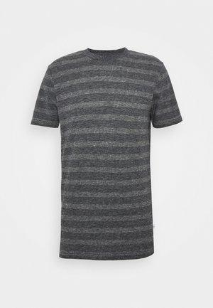 ALDER STRIPED TEE - T-shirt imprimé - dark blue