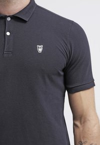 Knowledge Cotton Apparel - Poloshirts - dark blue - 4