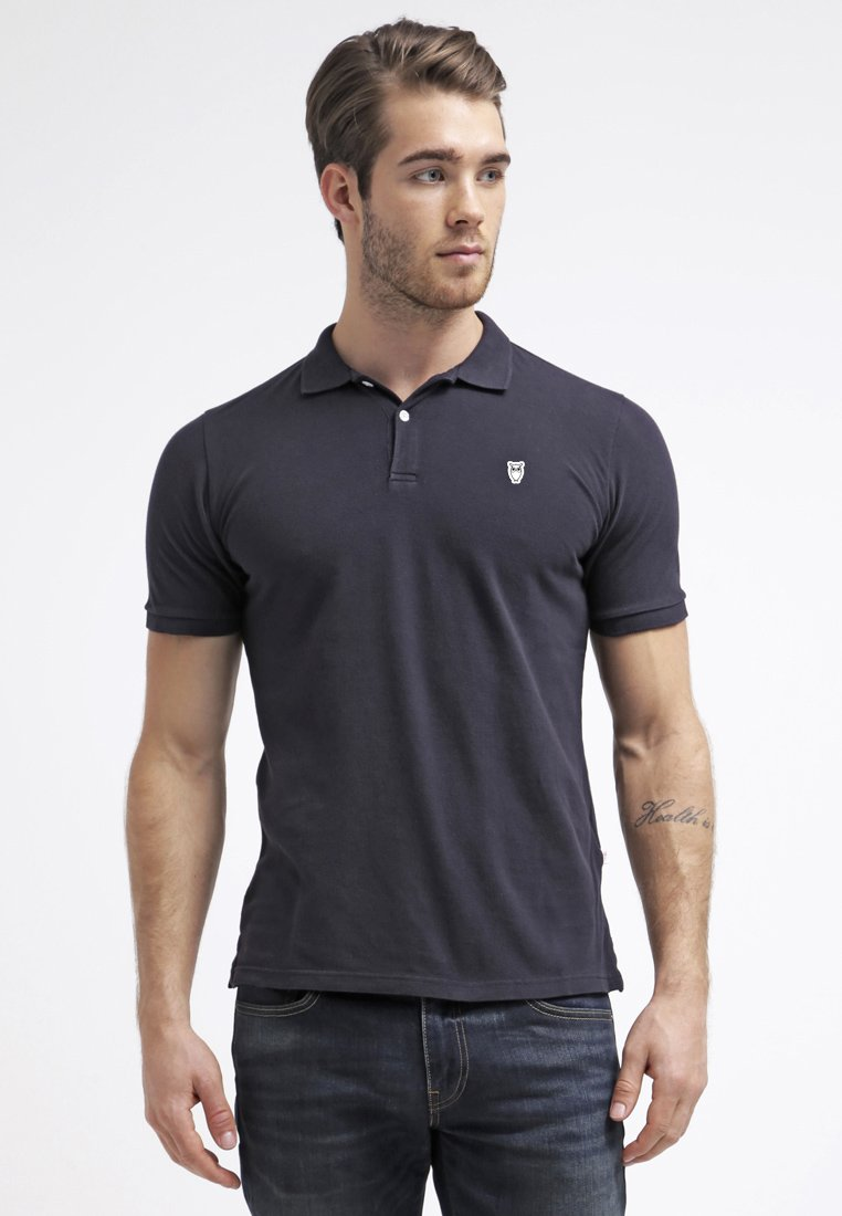Knowledge Cotton Apparel - Poloshirts - dark blue