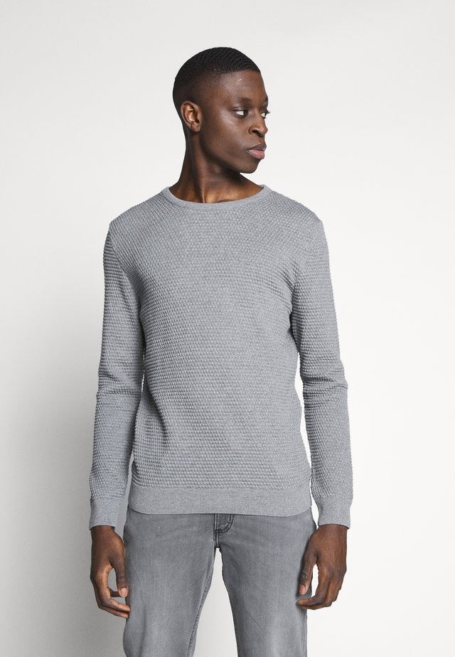 Jumper - grey melange